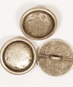 DROPS Knöpfe | Silber mit Öse